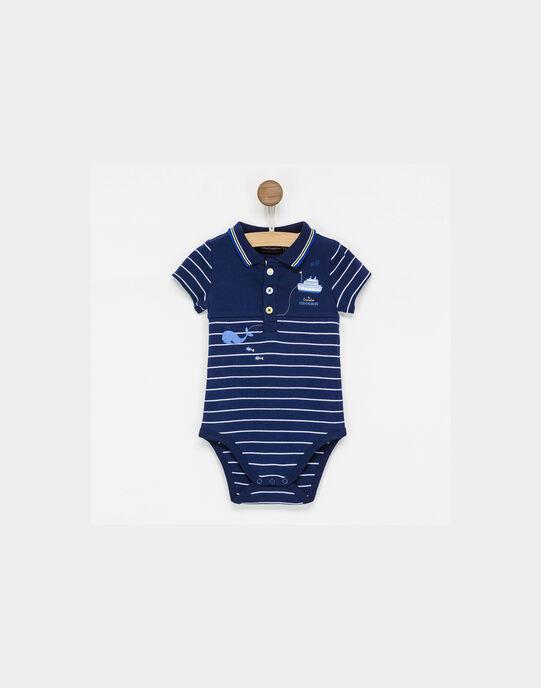 Body bleu marine NAEDAMIEN / 18E1BGF1BOD705