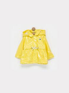 Imperméable jaune NAFANFAN / 18E1BFF1IMP010