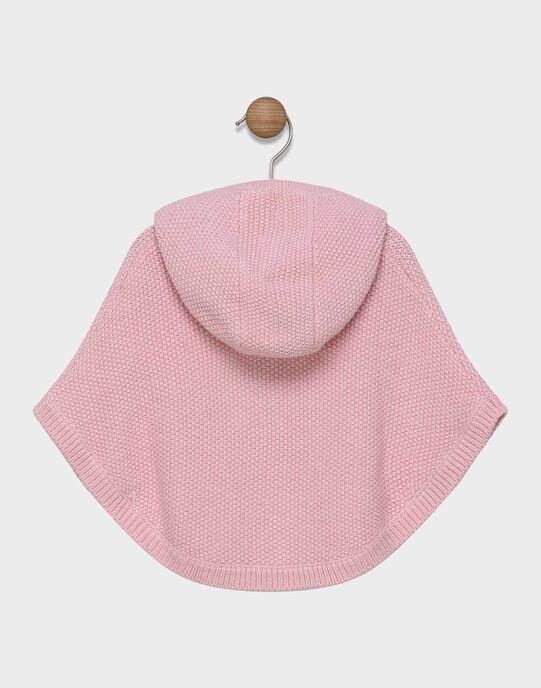 Poncho à capuche doublée à motifs SAELENE / 19H1BF41PON301