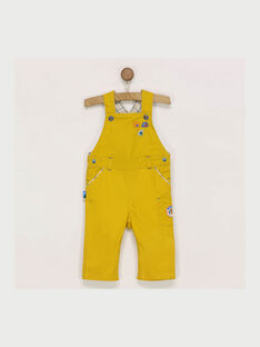 Salopette jaune  RACEDRIC / 19E1BG61SALB106