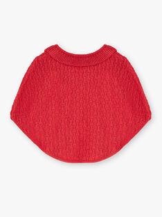 Poncho écru en tricot et fil lurex VAKLOE / 20H1BFR1PON510