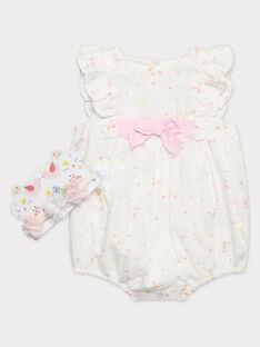 Barboteuse fleurie bébé fille  TALILY / 20E1BFJ1BAR000