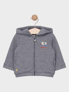 Veste de jogging bébé garçon à rayures  TACRIS / 20E1BGC1JGH070