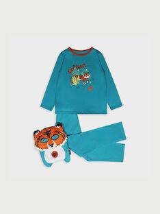 Pyjama bleu RIVOUAGE 2 / 19E5PG52PYTC215