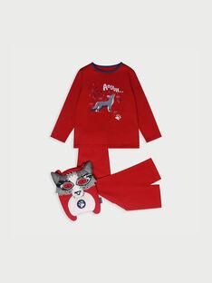 Pyjama rouge RIVOUAGE 1 / 19E5PG51PYT050