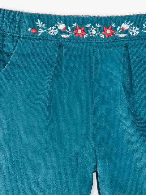 Pantalon Velours doubl/é pour B/éb/é gar/çon Chocolat 2576 mayoral