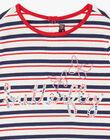 T-shirt rayé Butterfly ZOBABETTE / 21E2PFB2TMC632