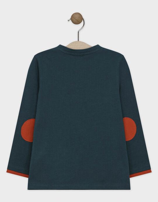 Tee Shirt Manches Longues Vert SATELAGE / 19H3PGC1TMLG625