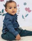 Chemise en jean bleu bébé garçon BAJOSUE / 21H1BG91CHMP269