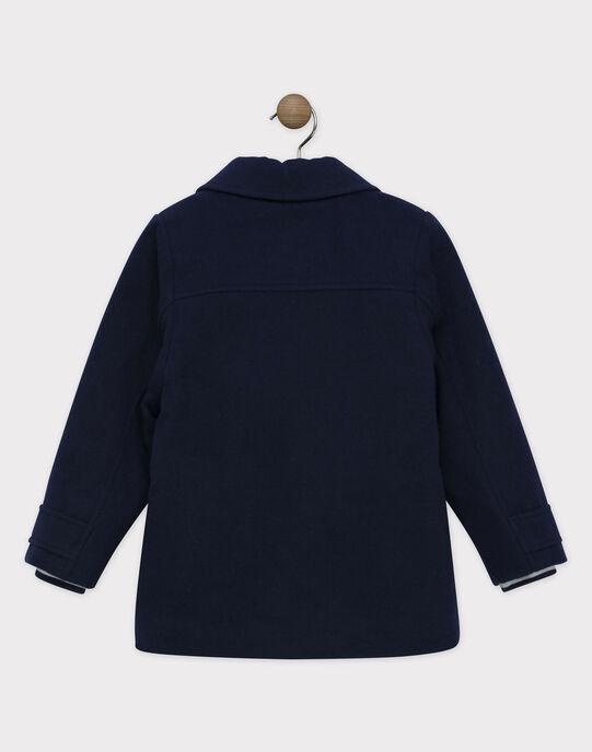 Manteau Bleu marine SAMANTOAGE / 19H3PGF1MAN715