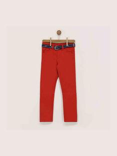 Pantalon rouge RIBOLAGE / 19E3PGE1PANF510