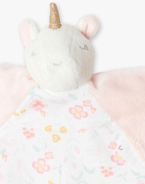 Doudou plat licorne bébé fille VICKIE / 20H0AF11JOU301