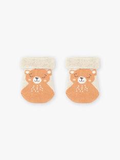 Chaussettes en bouclette à motifs oursons bébé garçon BALULU / 21H4BGJ2SOQ811