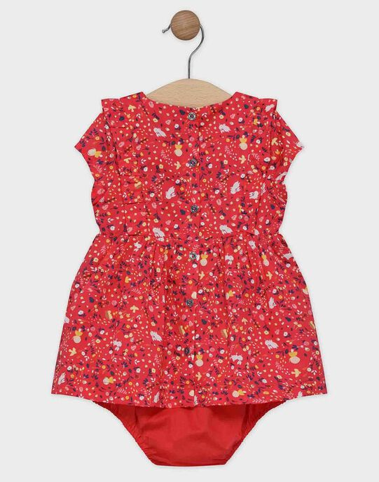 Robe AOP manches courtes + bloomer SAANNA / 19H1BF21ROBD313