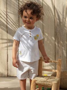 Bermuda beige bébé garçon TARADEK / 20E1BGQ1BER806
