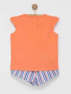 Ensemble tee shirt / short NYZANETTE / 18E2PFR1ENS402