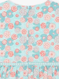 Robe chasuble imprimée fleur de lotus ZESUZETTE / 21E2PFI1CHS629
