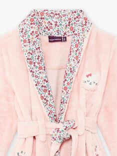 Robe de chambre rose détail chat enfant fille BEBZUETTE / 21H5PF71RDCD329