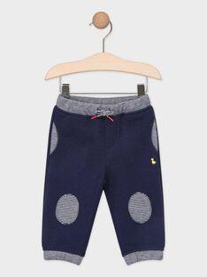 Pantalon de jogging bébé bleu marine   TACRISTOF / 20E1BGC1JGB070