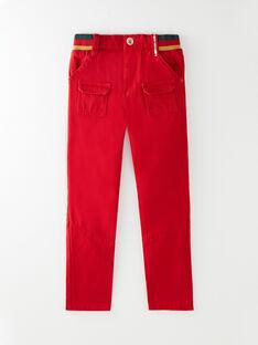 Pantalon rouge  VUCONSTAGE / 20H3PGQ2PAN050