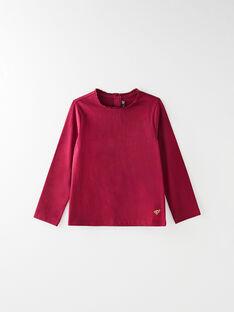 Tee-shirt manches longues uni prune VETISHETTE 6 / 20H2PFC7TML709
