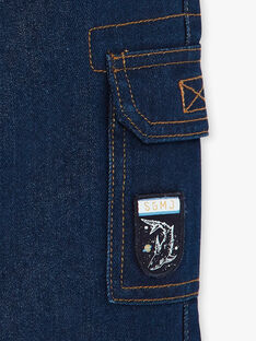 Jeans denim doublé polaire  VOFOUAGE / 20H3PGY1JEAK005
