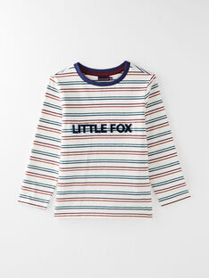 Tee Shirt Manches Longues Ecru VICLOAGE / 20H3PGU1TML003