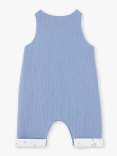Ensemble salopette, body tee-shirt et bavoir bébé garçon ZOANGE / 21E0CGG3ENSC203