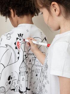 Œuf de Pâques jaune et cape à colorier enfant garçon TUDRAGAGE / 20E3PGU1CPO000
