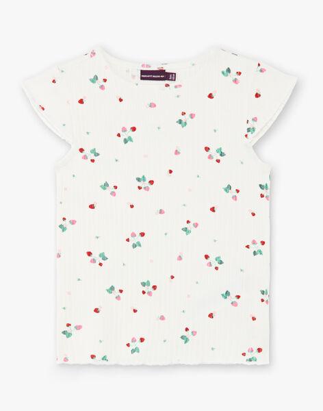 Tee Shirt Manches Courtes Ecru ZETIZETTE 2 / 21E2PFJ2TMC001