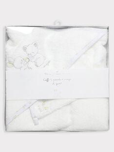 Pointe éponge et gant écru bébé mixte  TUVLOUF / 20E0AMR1TBB000
