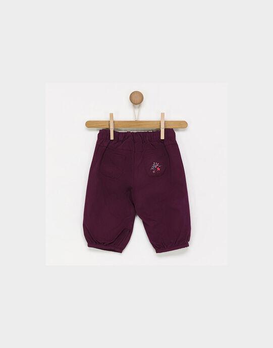 Pantalon violet PALOLA / 18H1BFH1PAN511