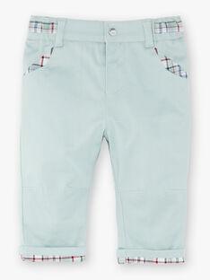 Pantalon vert pale   VAPROSPER / 20H1BGW1PANG632