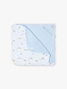 Couverture bleu ciel bébé garçon ZOARON / 21E0AGG1D4P020
