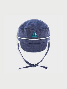 Chapeau bleu nuit RAGLOUTON / 19E4BGD1CHAC205