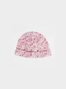 Bonnet de naissance à fleurs PADME / 18H0AF11BNA320