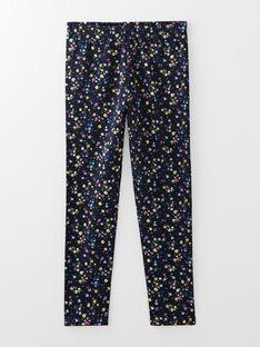 Pyjamas bleu petite fille  VEJODETTE / 20H5PF37PYJ216