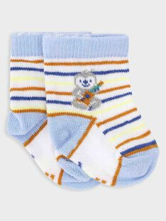 Chaussettes rayées bébé garçon  TAGRANT / 20E4BGG1SOQ000