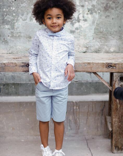 Bermuda bleu ciel enfant garçon TIFAGE / 20E3PGJ4BER020