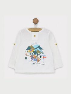 Tee shirt écru RACHARLY / 19E1BG61TML001