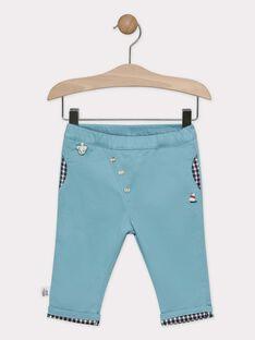 Pantalon vert tilleul bébé garçon  TACHUCK / 20E1BGC1PANG619