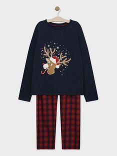 Pyjama Bleu nuit SORENAGEM / 19H3GHQ1PYJC205
