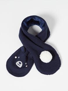 Echarpe Bleu marine VAFANTIN / 20H4BGI1ECH070
