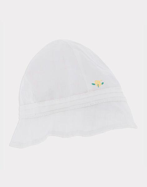Chapeau blanc RYGINA / 19E0AFI2CHA001