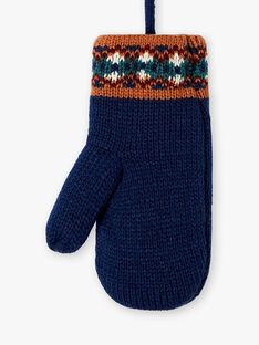 Moufles jacquard en tricot  VUMANAGE / 20H4PGJ2GAN702