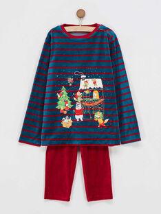 Pyjama bleu marine PYSAPAGE / 18H5PGS1PYJ714