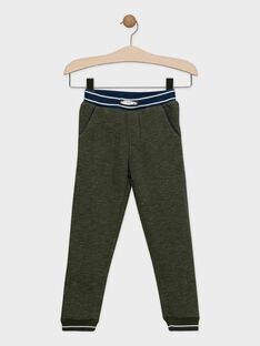 Pantalon kaki en molleton garçon SETAGE / 19H3PGI4PAN609