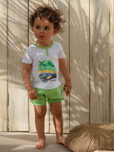 Socquettes rayées kangourou et koala bébé garçon TAWILLIAM / 20E1BGX1CBL001