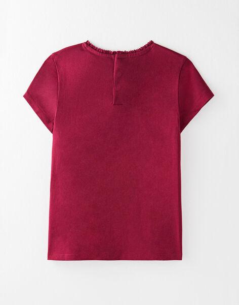 Tee Shirt Manches Courtes Violet VETISHETTEX 6 / 20H2PFC6TMC709