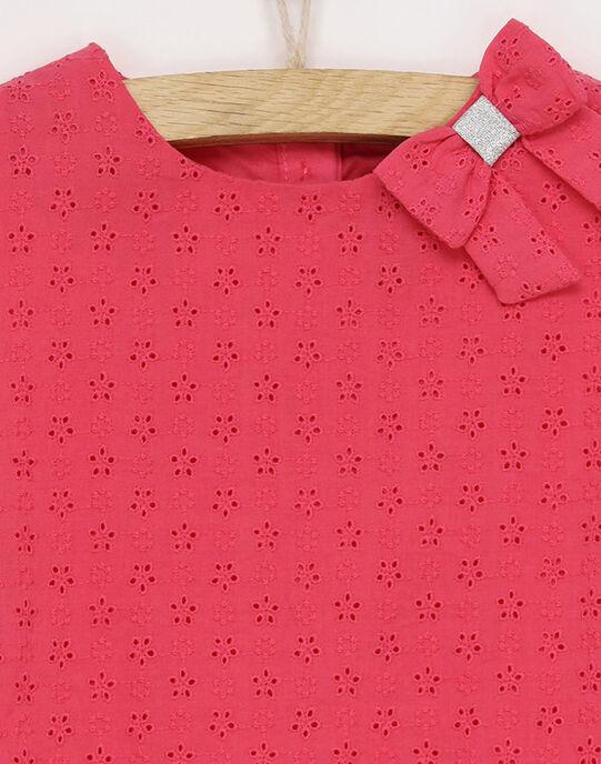 Robe rose RYCIVETTE / 19E2PFT1ROB304